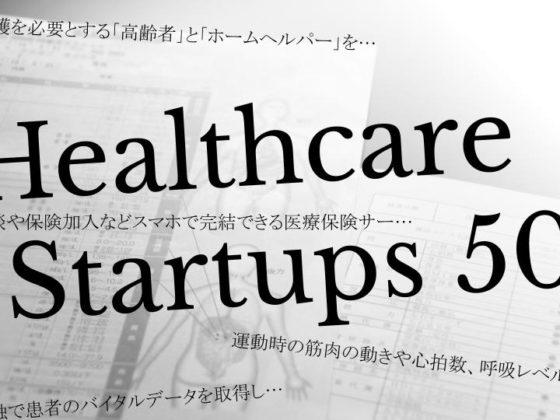 「Healthcare Startups 50」を公開! 米国やイスラエルのヘルスケア分野の注目スタートアップ50社