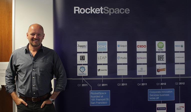 シリコンバレーのオープンイノベーション施設「RocketSpace」