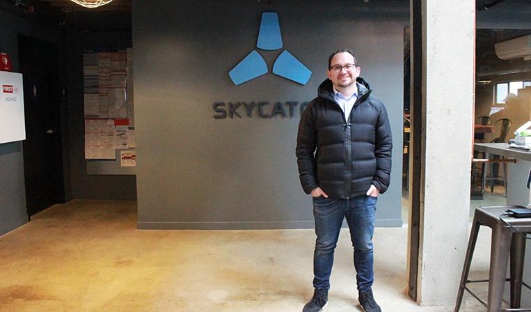 コマツとも事業提携。ドローンで建設業界の問題を解決する「Skycatch」