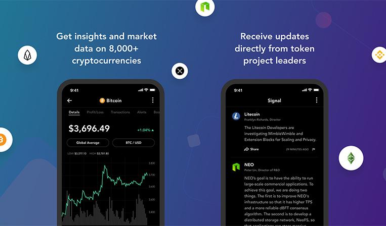 仮想通貨のポートフォリオ管理アプリBlockfolio