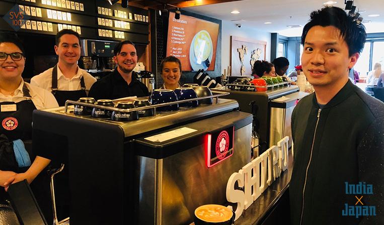 インド工科大学で『知るカフェ』5店を運営する日本人経営者