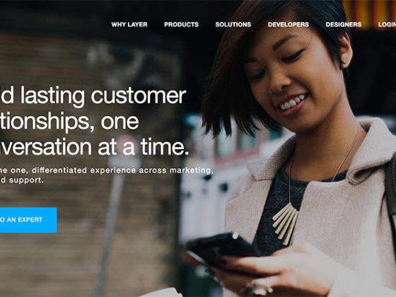 チャット機能を提供するLayer、「企業と消費者のコミュニケーションが変化」
