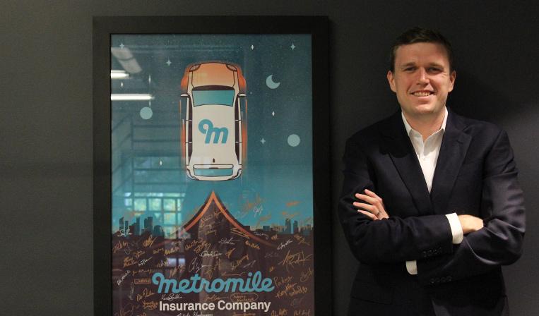 走った分だけ保険料を支払う「Metromile」