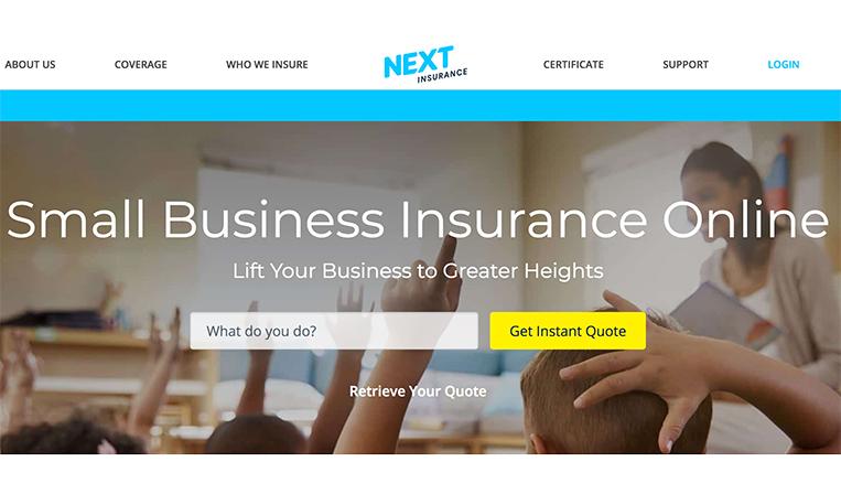 個人事業主向けのオンライン保険プラットフォームNext Insurance