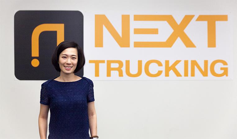 配送元とトラックドライバーを繋げる「NEXT Trucking」