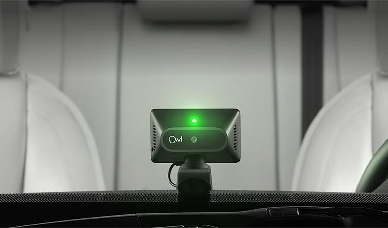 LTEと繋がりカメラがいつでも車を監視するOwl Cameras
