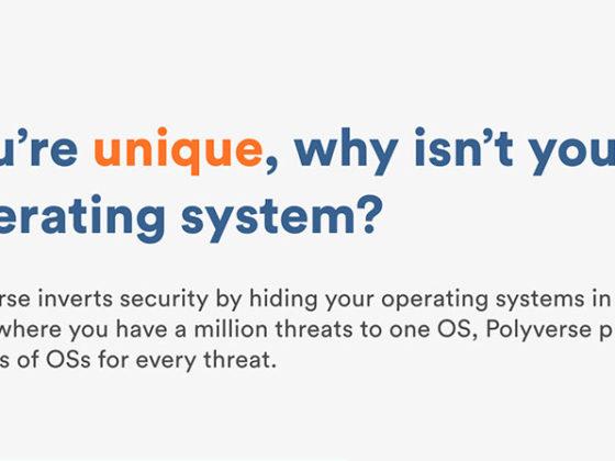 ファイルレス攻撃を未然に防ぐ。バイナリレベルでOSをユニーク化するPolyverse
